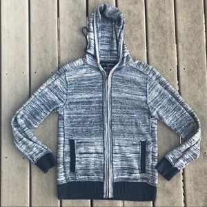 BUFFALO DAVID BINTON Zip Up Sweater M